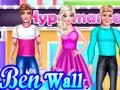 Play Ben Wall Paint Design Game